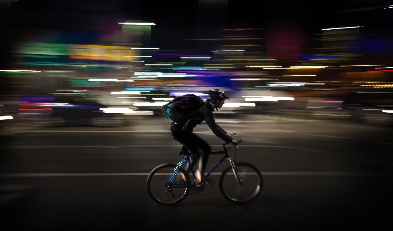 rider, fattorino in bici