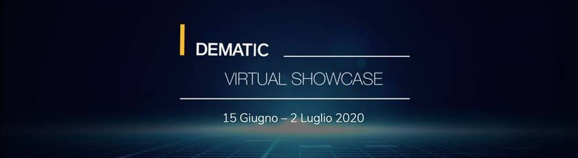 Webinar, eventi digitali, dematic, Giugno, Virtual ShowCase Summer Edition